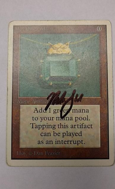 Mox Emerald - Signed (Garfield)