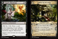 Arguel's Blood Fast // Temple of Aclazotz - Foil