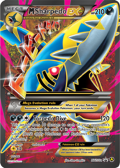 M Sharpedo EX - XY200a - Alternate Art Promo