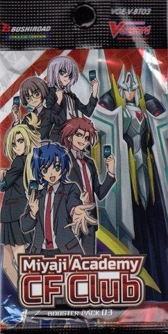 V Booster Set 03: Miyaji Academy Cardfight Club Booster Pack