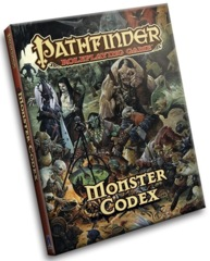 Pathfinder RPG: Monster Codex (Pocket Edition)