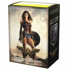 Dragon Shield Sleeves: Matte Justice League - Wonder Woman (Box of 100)