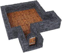 Warlock Tiles: Dungeon Tile I - Straight Walls
