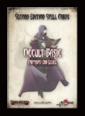 Pathfinder Second Edition Spell Cards: Occult Basic