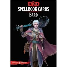 Dungeons And Dragons: Spellbook Cards 2nd Ed. - Bard Deck