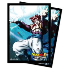 Ultra Pro - Dragon Ball Super: Standard Size Deck Protector 100Ct - All SS4 Gogeta