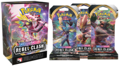 Sword & Shield - Rebel Clash Build & Battle Box + 3 Booster packs - Prerelease kit at-home