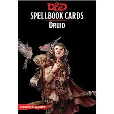 Dungeons And Dragons: Spellbook Cards 2nd Ed. - Druid Deck