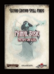 Pathfinder Second Edition Spell Cards: Primal Basic