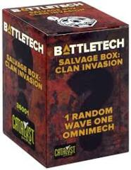BattleTech Salvage Box - Clan Invasion Mystery Pack
