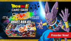 2 x Dragon Ball Super - Draft Box 5 - Divine Multiverse (Pre-Order + Deposit)