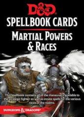 Dungeons And Dragons: Spellbook Cards 2nd Ed. - Martial Powers & Races Deck