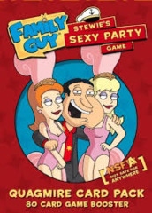 Family Guy: Stewie's Sexy Party Game - Quagmire Card Pack Expansion