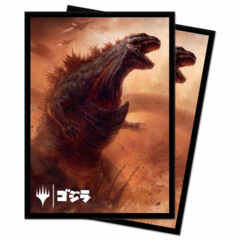 Ultra Pro - Ikoria: Lair of Behemoths Deck Protector Sleeves - Godzilla, Doom Inevitable