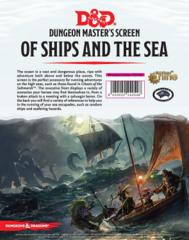 D&D Dungeon Master's Screen - Of Ships and The Sea