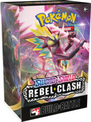 Sword & Shield - Rebel Clash Build & Battle Box (Prerelease kit)