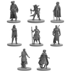 Critical Role Unpainted Miniatures - Mighty Nein