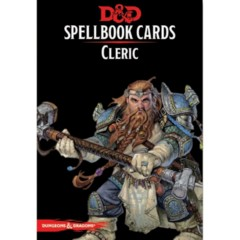 Dungeons And Dragons: Spellbook Cards 2nd Ed. - Cleric Deck