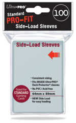 Ultra Pro 100ct Standard Pro-Fit Side-Load Sleeves