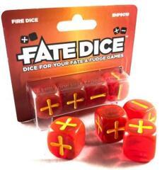 Fate Dice - Fire Dice