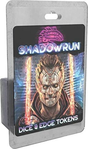 Shadowrun 6th Edition - Dice & Edge Tokens