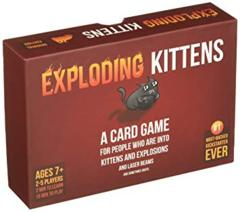 Exploding Kittens Party Pack - Board Games » Exploding