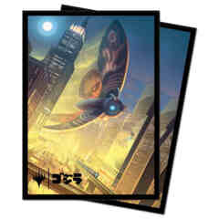 Ultra Pro - Ikoria: Lair of Behemoths Deck Protector Sleeves - Mothra, Supersonic Queen