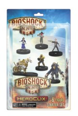 Bioshock Infinite Hero Clix 6 Figure Starter Set