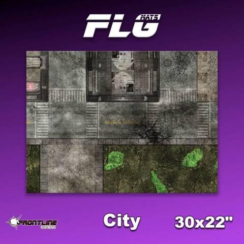 FLG Gaming Mat: City 1 - 30 x 22