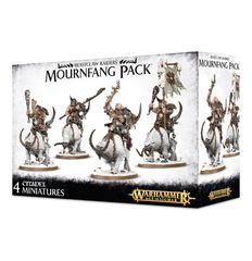 Beastclaw Raiders Mournfang Pack 95-14