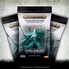 Warhammer Age of Sigmar Champions Onslaught Booster Pack