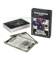 40K Tactical Objective Cards