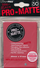 PRO-Matte Standard - Red 50ct  82650