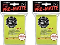PRO-Matte Standard - Bright Yellow 50ct 84149