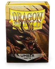 Dragon Shield Box of 100 Matte Umber