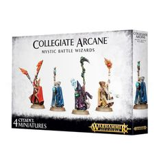 Collegiate Arcane Mystic Battle Wizards - WEB ONLY