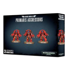 Blood Angels Primaris Aggressors-WEB ONLY