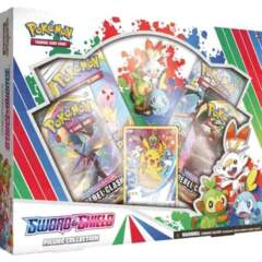 Pokemon Sword and Shield Figure Collection Box