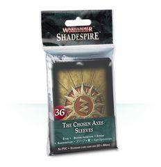 WH Underworlds Shadespire: The Chosen Axes Sleeves