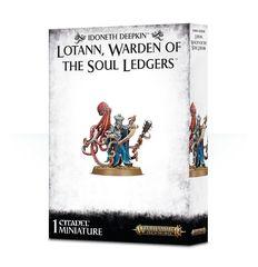 Idoneth Deepkin Lotann Warden of the Soul Ledgers