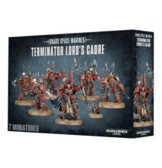 Chaos Space Marines Terminator Lord's Cadre- WEB ONLY