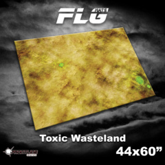 FLG Gaming Mat: Toxic Desert  44 x 60