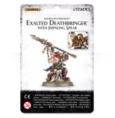Exalted Deathbringer with Impaling Spear  WEB ONLY