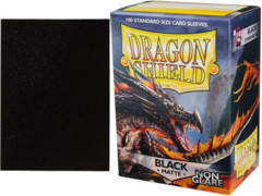 Dragon Shield Box of 100 Matte Non-Glare Black 11802