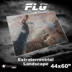 FLG Gaming Mat: Extraterrestrial Landscape  44 x 60