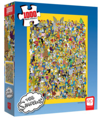 Puzzle The Simpsons - Cast of Thousands