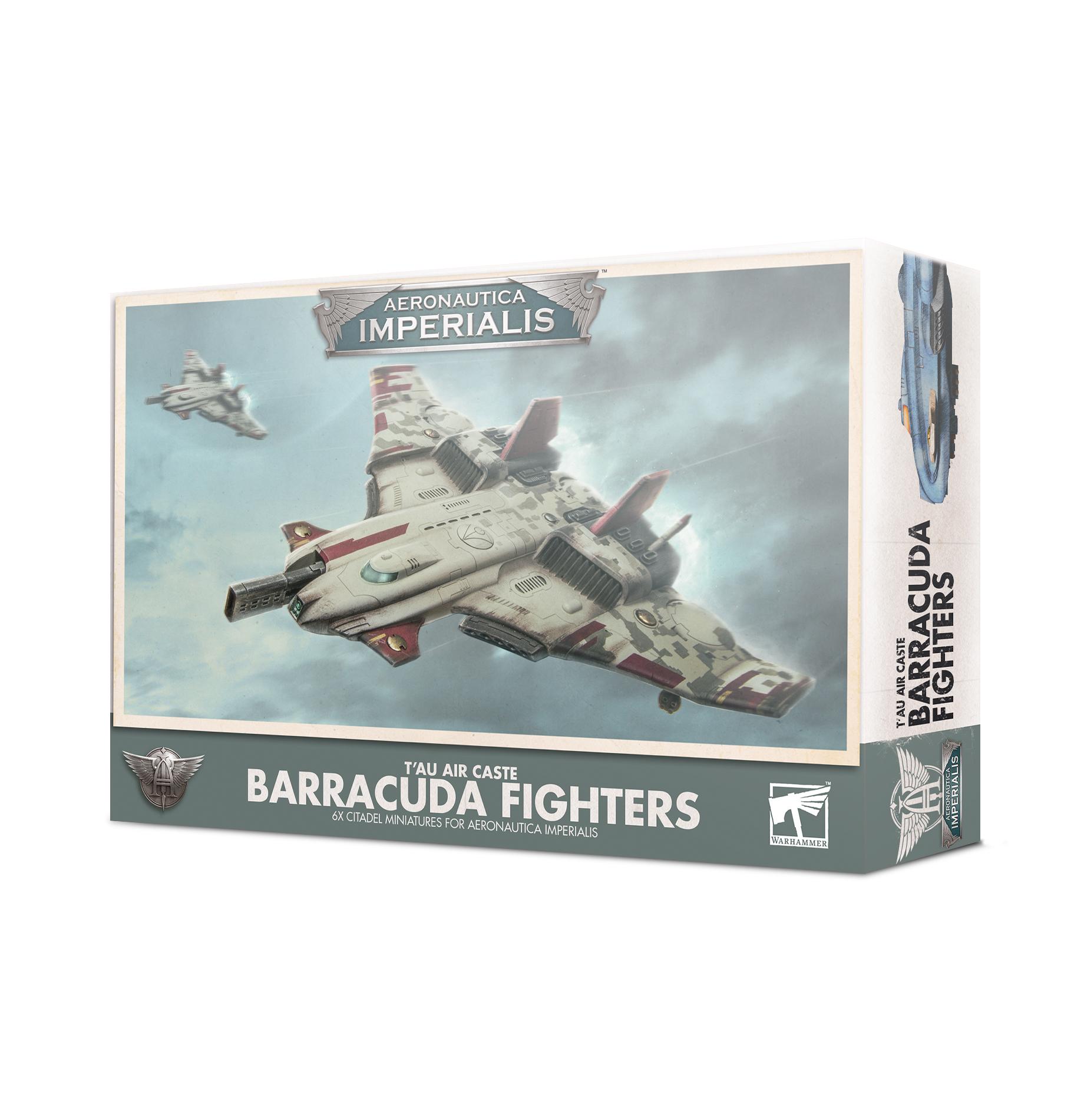 Aero/Imperialis: Tau Air Caste Barracuda Fights 500-29