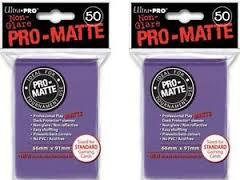 Pro-Matte Standard - Purple  Sleeves (50ct) 84187