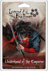 L5R Underhand of the Emperor - Scorpion Clan Pack FFG L5C15