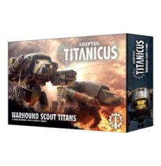 Adeptus Titanicus  Warhound Scout Titans 400-18